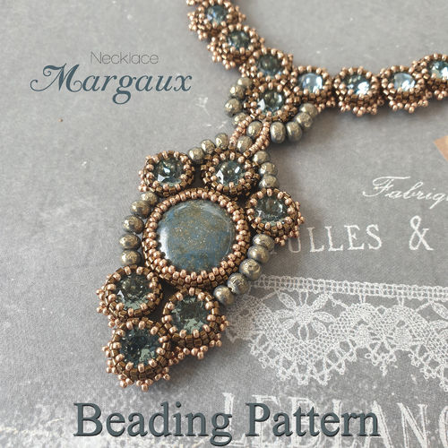 Beading pattern - Necklace 'Margaux'