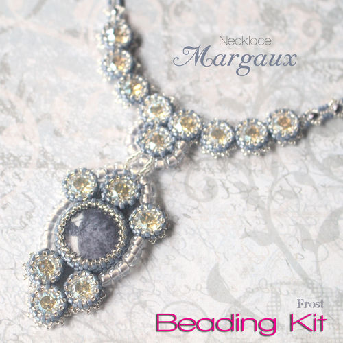Beading Kit - Necklace 'Margaux' - Frost