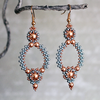 Beading pattern - Earrings 'Lola'