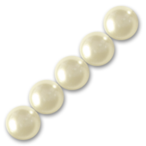 Swarovski Parel 6mm - Cream Pearl x10