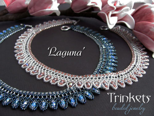 Tutorial for necklace 'Laguna' - English