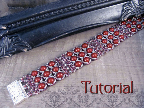 Tutorial for bracelet 'To The Nines' - English