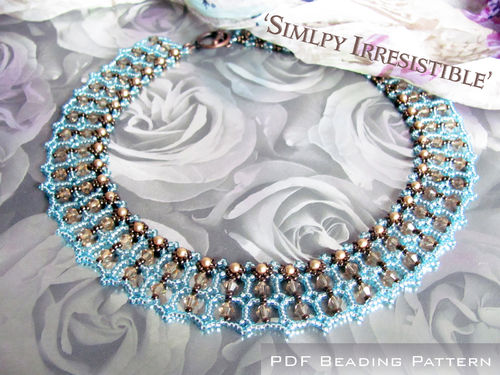 Tutorial for necklace 'Simply Irresistible' - English